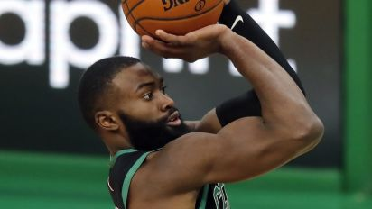Celtics' Brown had a heat-check game for the ages