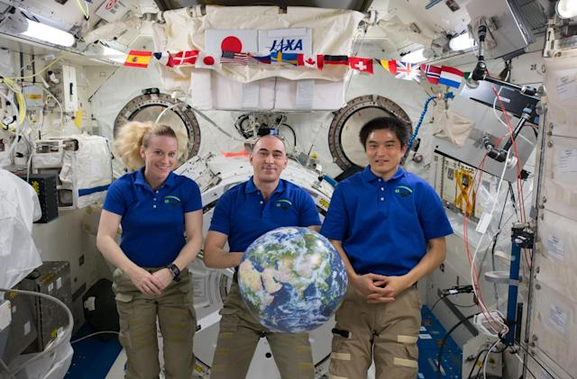 Watch crew leave the International Space Station at 4:45PM Eastern