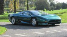 Ex Brunei Royal Family Jaguar XJ220 up for auction