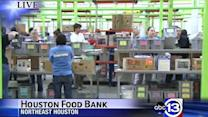 MLK day of service at Houston Food Bank