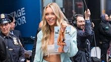 Sports Illustrated cover star Camille Kostek shares cheeky rehearsal video