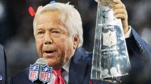 Patriots owner Robert Kraft charged by police in prostitution sting