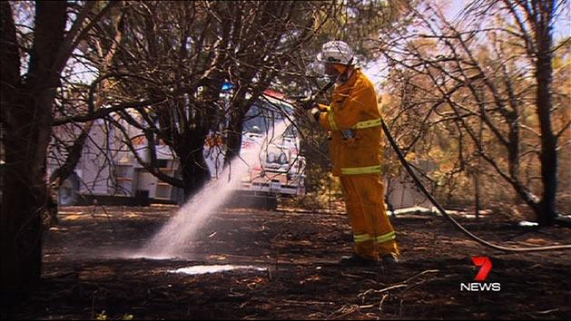 State braces for fire threat