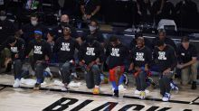 Thunder players all kneel during anthem after threat from Oklahoma lawmaker
