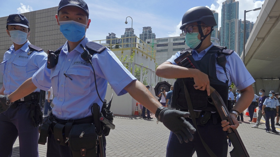 Hong Kong police granted sweeping powers