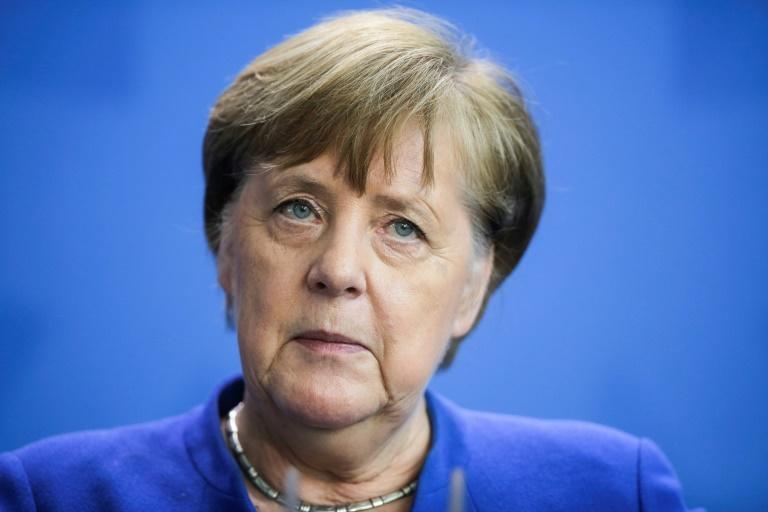 German Chancellor Angela Merkel says the country must remain 'vigilant and disciplined' in the face of the coronavirus pandemic (AFP Photo/Markus Schreiber)