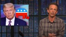 Seth Meyers on the Republicans: 'Their plan is to steal an election'