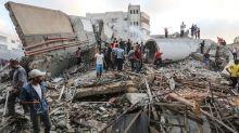 Israeli aircraft strike Gaza after Palestinians fire rockets into Israel
