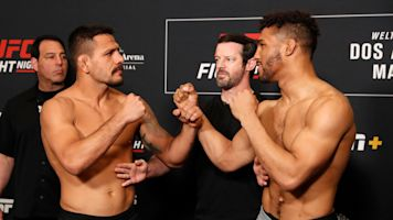 Rafael dos Anjos withstands Kevin Lee's early pressure, gets 4th-round submission