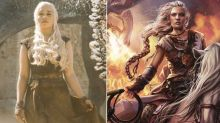 How do 'Game of Thrones' characters look compared to the books?