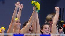 Aussie swim team hit new Olympic high
