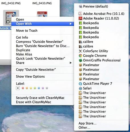 """How to spring clean """"Open With"""" duplicates"""