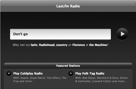Last.fm Radio to start charging for service, shut down in some countries in 2013
