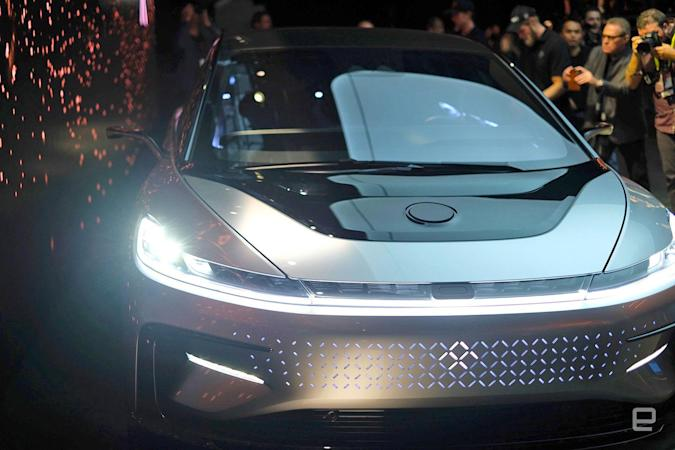Faraday Future sued over missed payments on $2 million VR video (update)