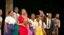 Jennifer Hudson and Her 'Color Purple' Castmates Pay Tribute to Prince With 'Purple Rain'
