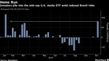 U.K. Domestic Stock ETF Is the Most Popular in Nine Months