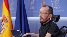 Echenique: La Fiscalía da la razón a Podemos en el 90 % de sus razonamientos