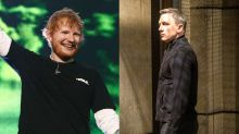Ed Sheeran in poll position for 'No Time to Die' as bookies slash Bond theme odds