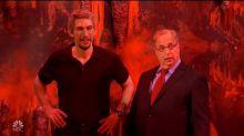SNL: Jon Lovitz's Alan Dershowitz Meets Adam Driver's Jeffrey Epstein in Hell