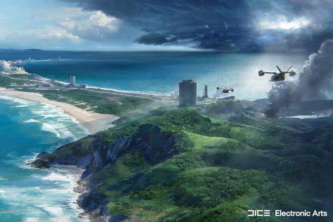 'Battlefield 2042' Orbital map from open beta