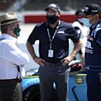 NASCAR will no longer require drivers and teams to wear masks outside