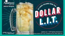 Applebee's® Has $1 Long Island Iced Tea the Entire Month of December