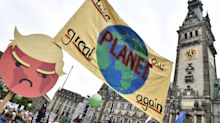 Trump, Merkel and coal take center stage at climate protests ahead of the G20 in Hamburg