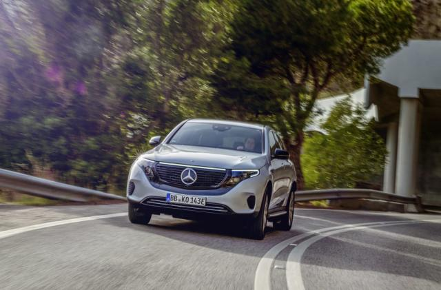 Mercedes-Benz's EQC Edition 1886 goes heavy on creature comforts