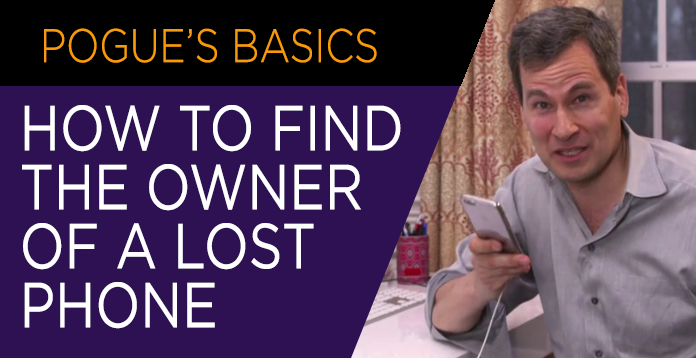 How To Find The Owner Of A Lost Phone Video
