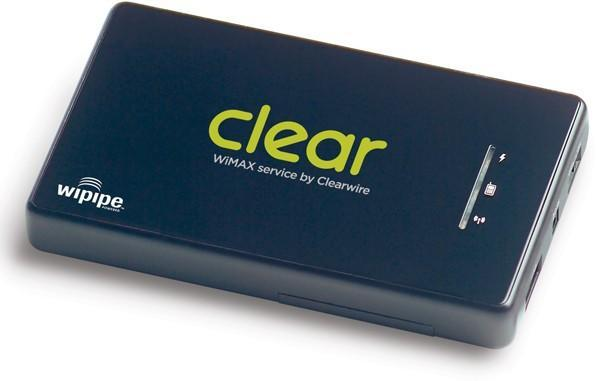 Clearwire's Clear Spot portable WiMAX / WiFi router now official, coming early April
