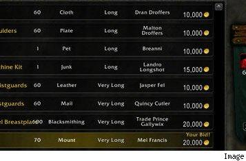 Mists of Pandaria: Black Market Auction House offers rare and removed items