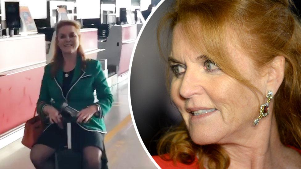 Sarah Ferguson sends royal fans into hysterics with bizarre video upload