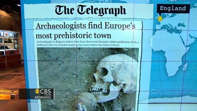 Headlines: Europe's oldest pre-historic town