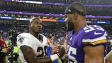Adrian Peterson good with Sean Payton, but 'didn't sign up for nine snaps'