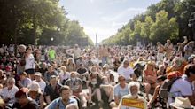 Gegen Corona-Auflagen: Demonstration in Berlin