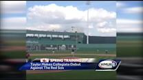 NH native pitches in first college game against Red Sox