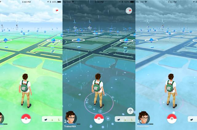 'Pokémon Go' will soon incorporate real-world weather