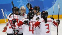 Ice Hockey: Canada crush OAR to set up U.S. showdown