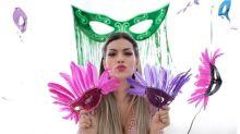 Kelly Key faz ensaio carnavalesco 'Baba Baby' e pede sexo com proteção