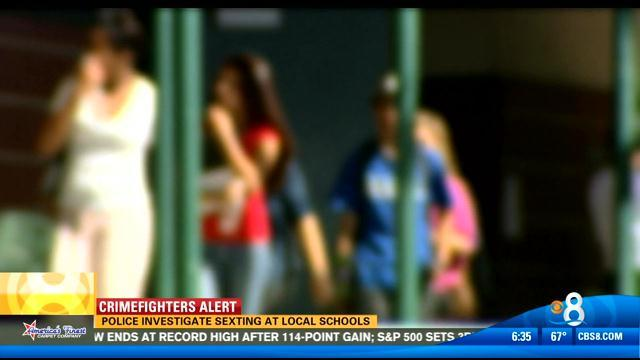 Police investigate sexting at local schools
