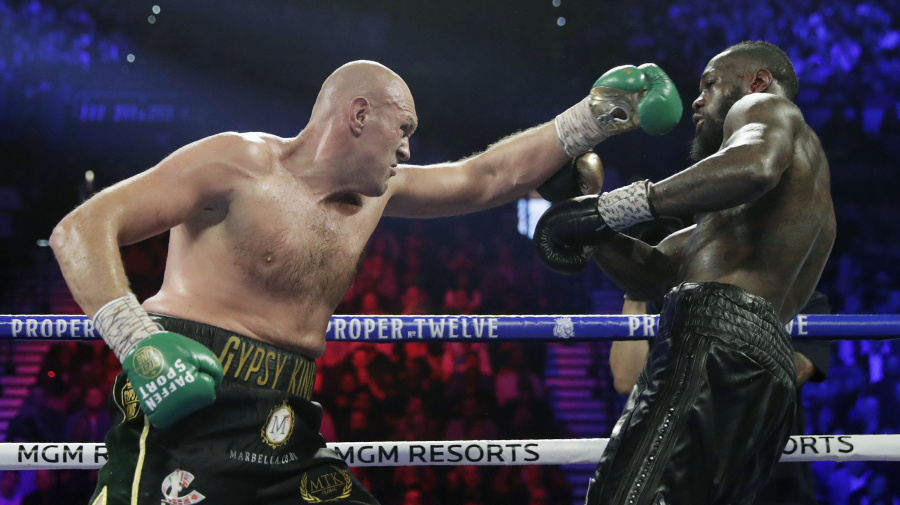 Fury-Wilder, Part III pushed due to football
