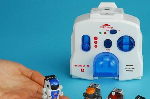Takara Tomy's remote control robo-Q robot is tiny, incredibly cute
