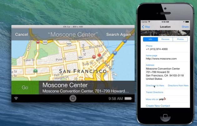 An early look at iOS in the Car (video)