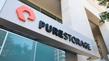 Pure Storage shares dive after company misses quarterly targets