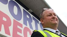 Shares in Mike Ashley's Sports Direct drop as profits plunge 69%