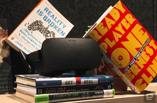 The VR reading library Oculus hid at its developer conference