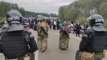 Bis zu 2000 jüdische Pilger sitzen an Grenze zwischen Belarus und der Ukraine fest