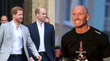 Prince Harry and William praise Gareth Thomas after he reveals HIV diagnosis