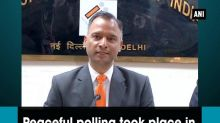 Peaceful polling took place in third phase of UP elections: EC