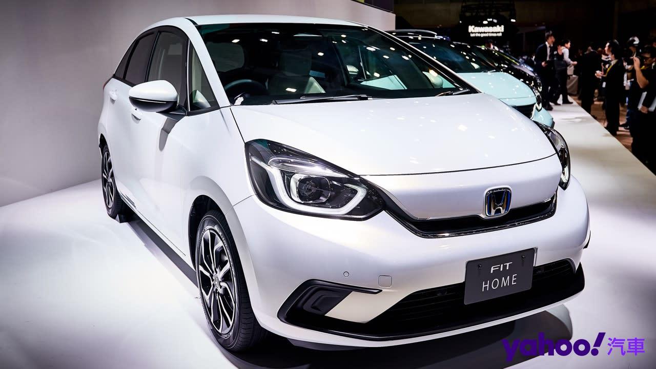 【東京車展】2020 Honda大改款第4代Fit現場直擊!5種風格、動力暫保留!
